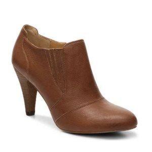 Audrey Brooke Avignon Ankle Bootie Cognac Size 7